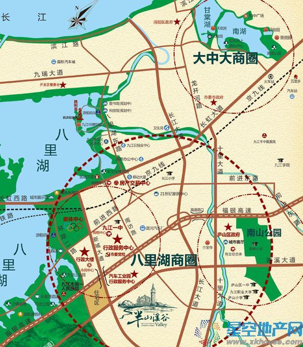 茂丰·半山溪谷交通图
