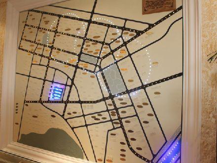 加州1885交通图