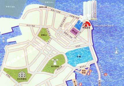 海天居交通图