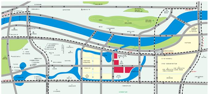 天誉花园交通图
