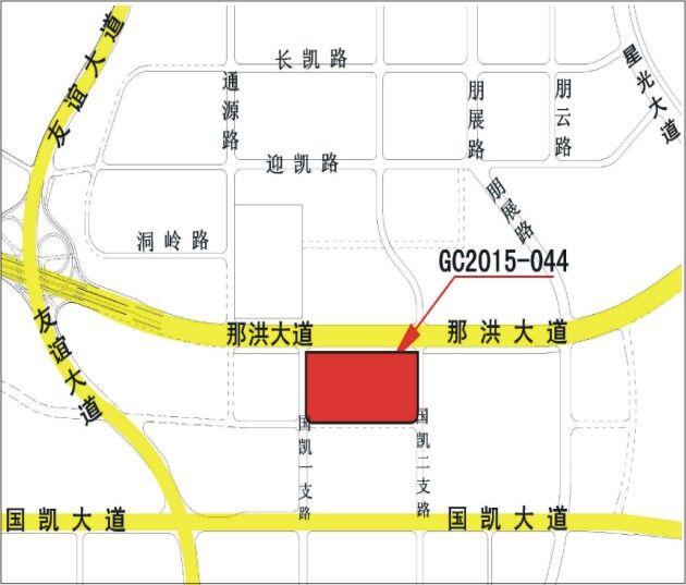 江南综合体、五象新区等6宗地块五月揭牌