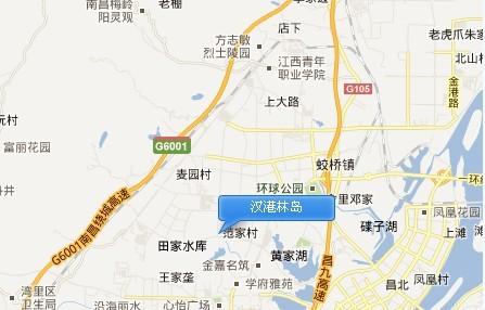 汉港凯旋城交通图