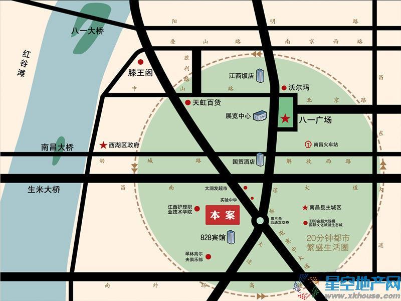 江铃瓦良格交通图