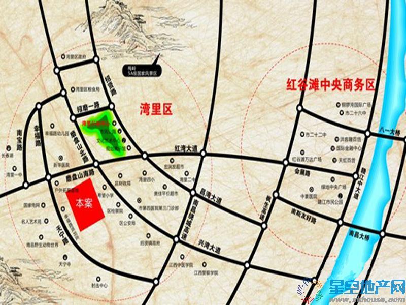 磨盘山8号交通图