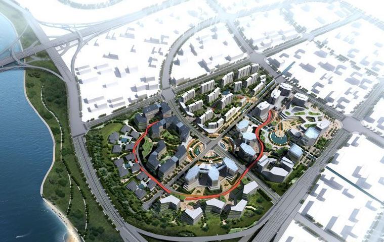 绿地江西金融产业园楼号图