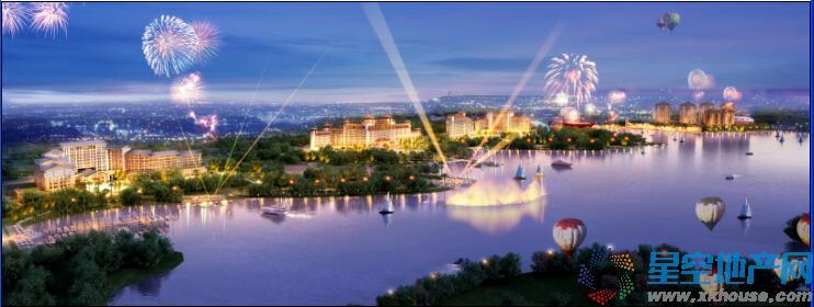 南昌融创万达文化旅游城周边环境图