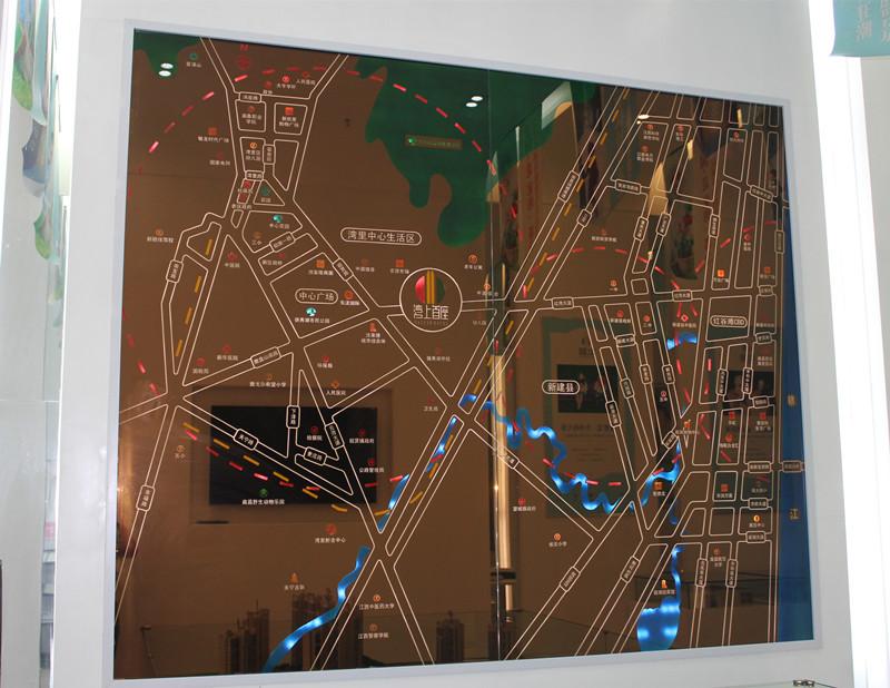 湾上首座交通图