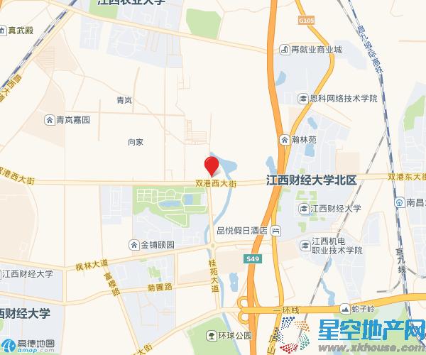 北大资源智汇苑交通图