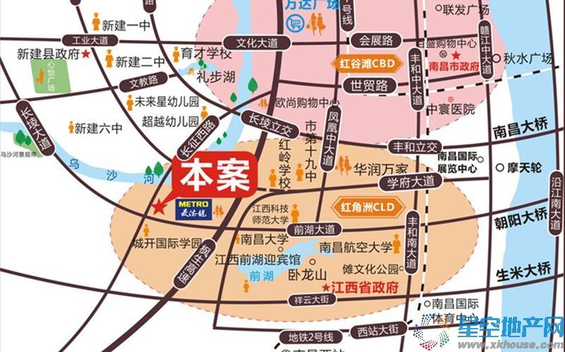 当代国际MOMA交通图