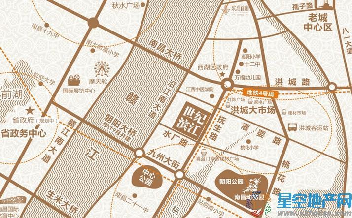 宏泰世纪滨江交通图