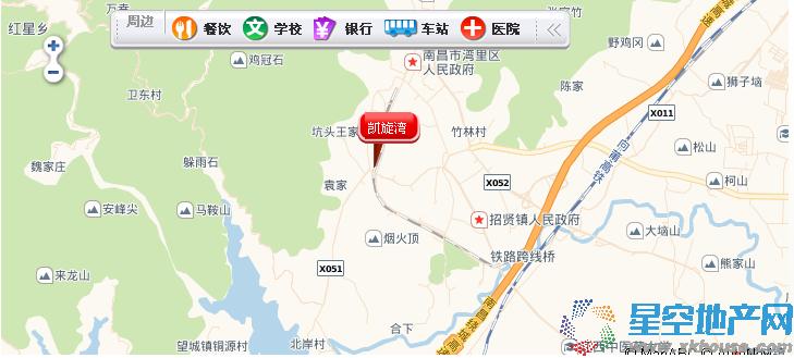中煤凯旋湾交通图