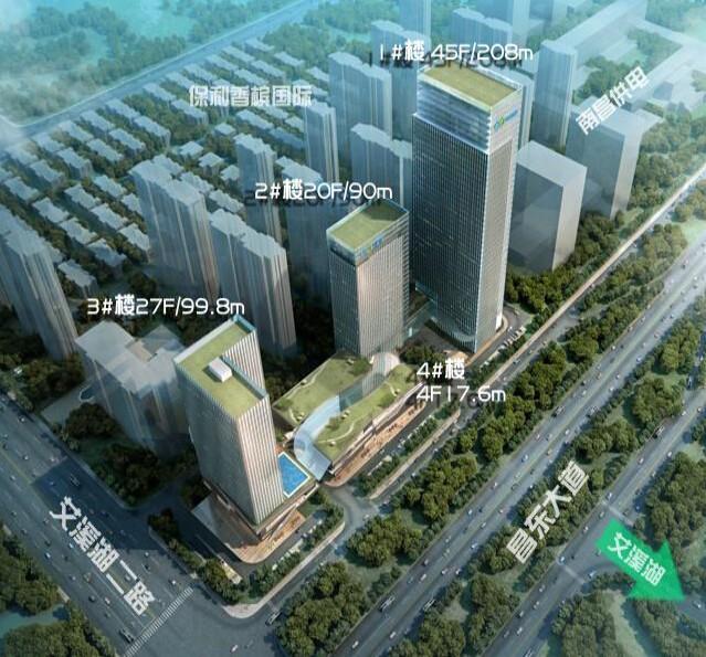 中节能国际中心楼号图