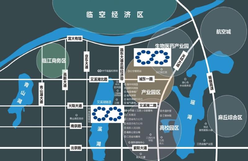 中节能国际中心交通图