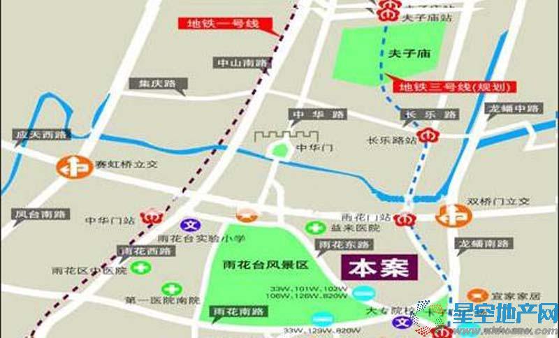 爱涛逸珍公馆交通图