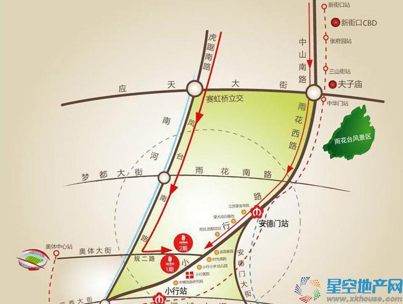 金浦名城世家交通图