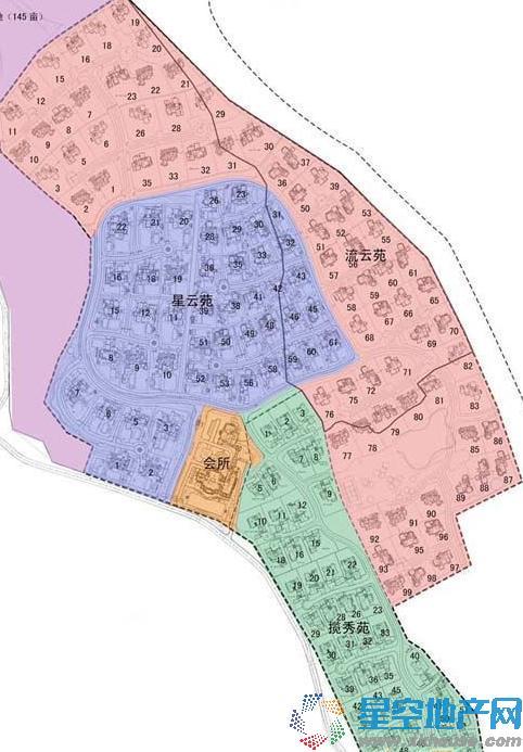 绿城玫瑰园楼号图