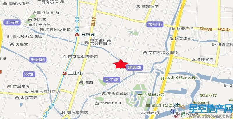 京隆国际公寓交通图