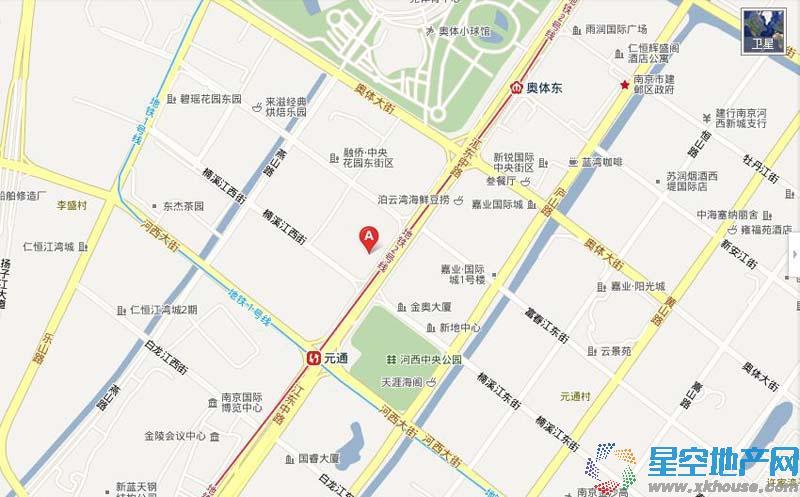 华新城交通图
