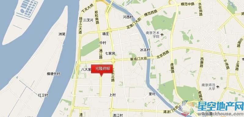 元隆府邸交通图