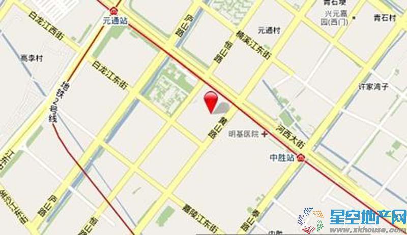 南京环球贸易广场交通图