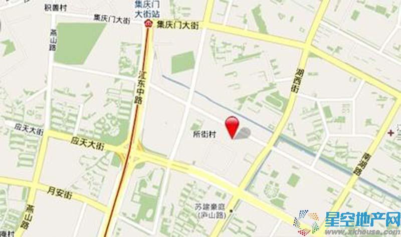 乐基广场交通图