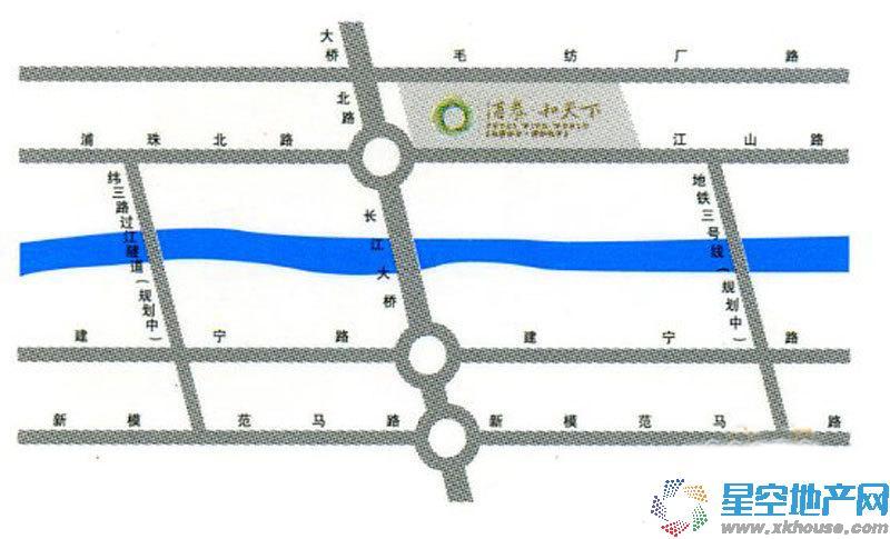 浦泰和天下交通图