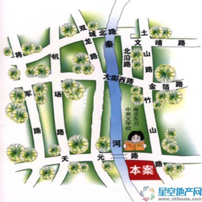 武夷绿洲交通图