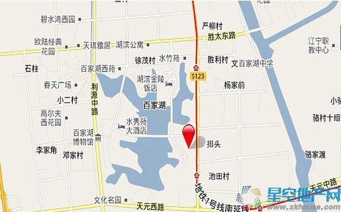 绿城水晶蓝湾交通图