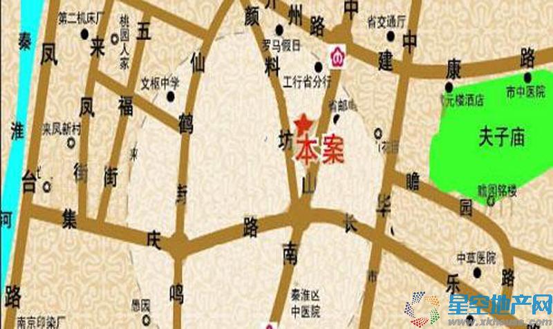 泰禾南京院子交通图