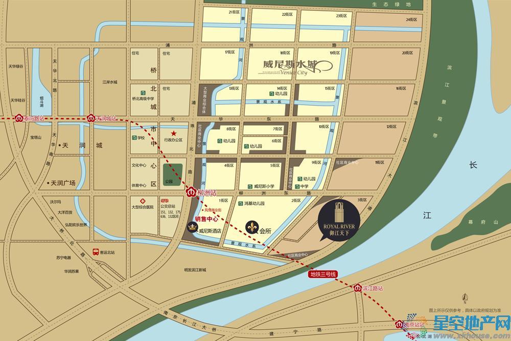 北外滩水城交通图