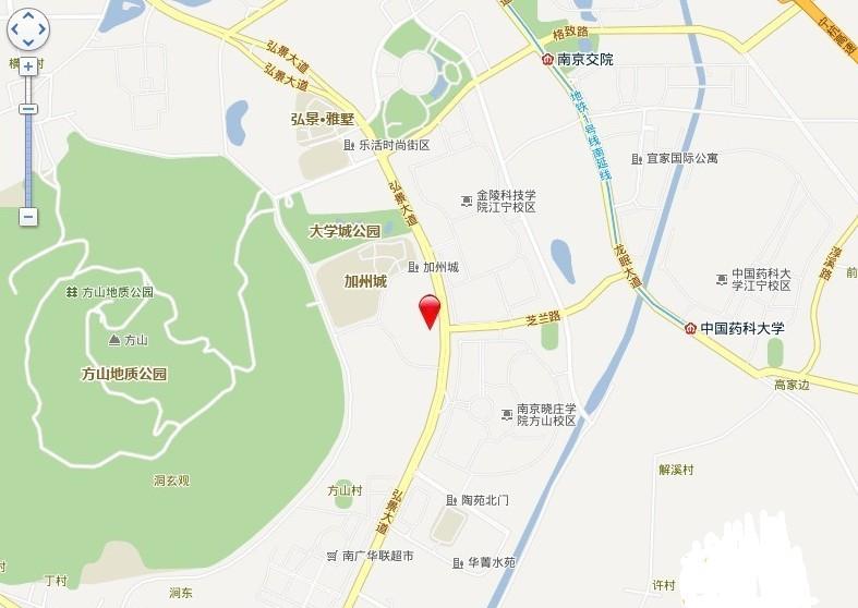 景枫法兰谷交通图