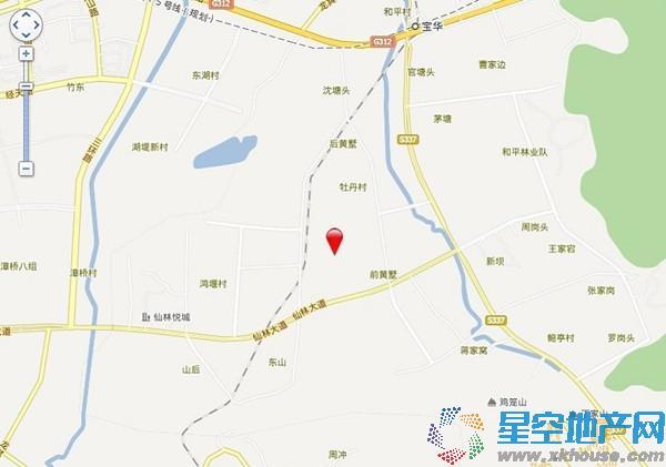 京东紫晶交通图
