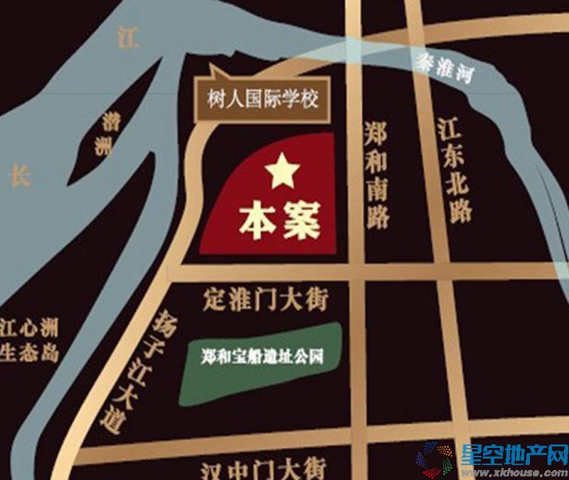 恒盛金陵湾交通图