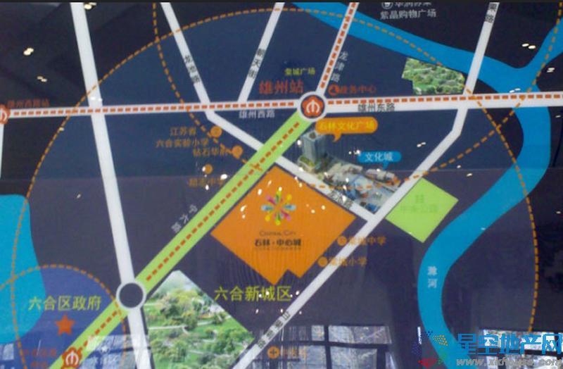 石林中心城交通图