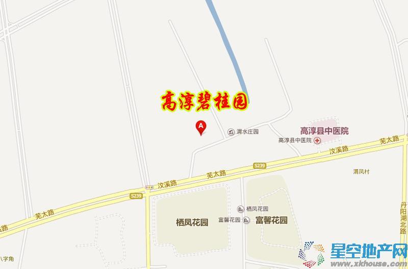 高淳碧桂园交通图