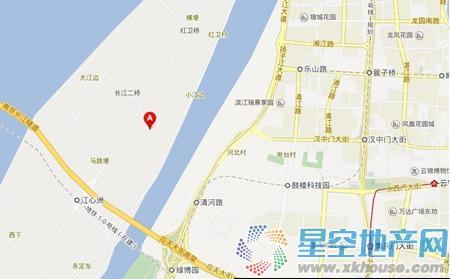 升龙公园道交通图
