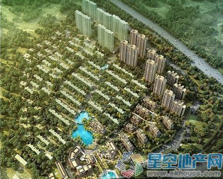 银亿东城楼号图