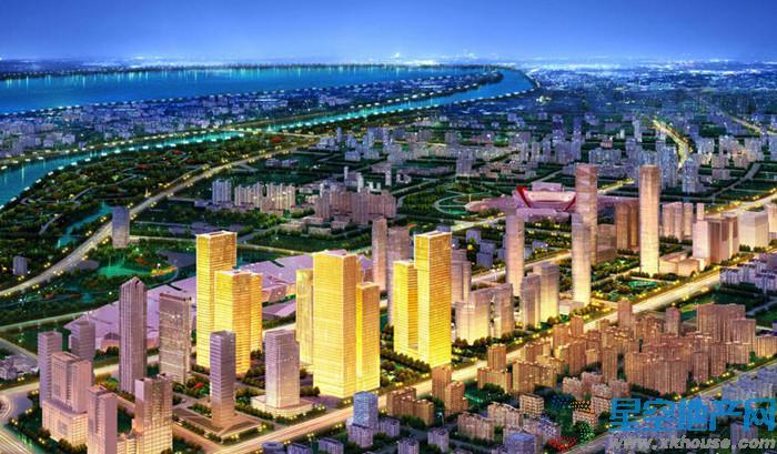 南京金融城楼号图