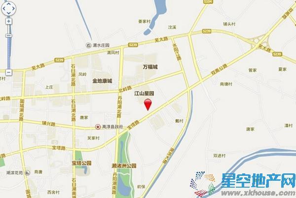 红太阳国际财智广场交通图