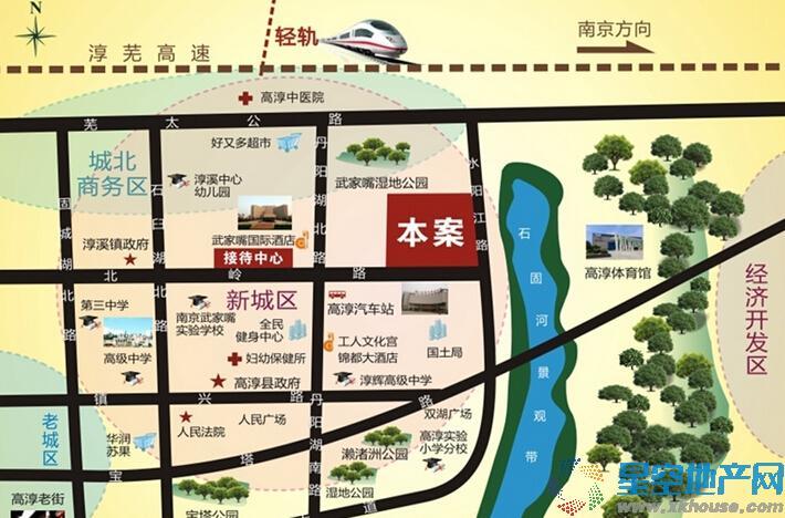 奕淳绿园交通图