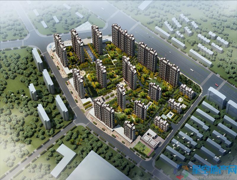 中国铁建青秀城在售楼栋