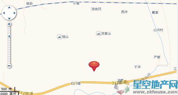 锦隆云山墅交通图
