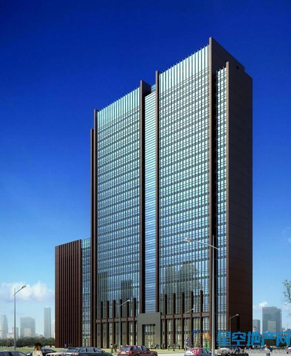南京越洋国际商务中心效果图