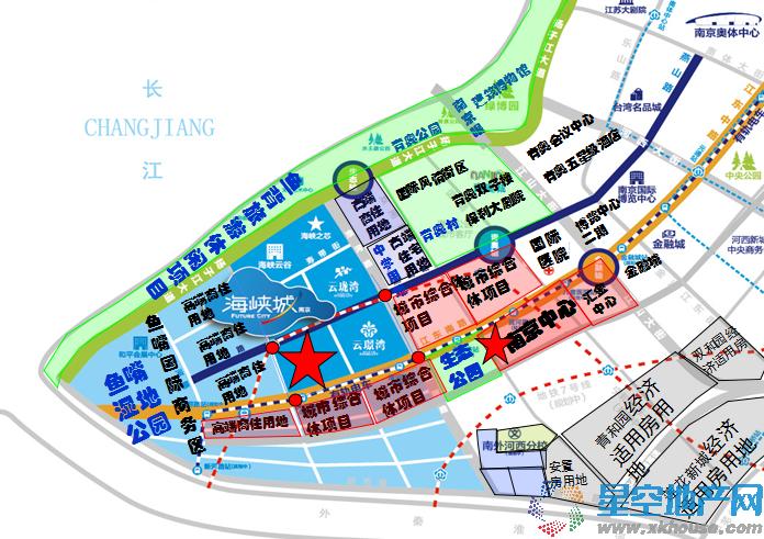 海峡城交通图