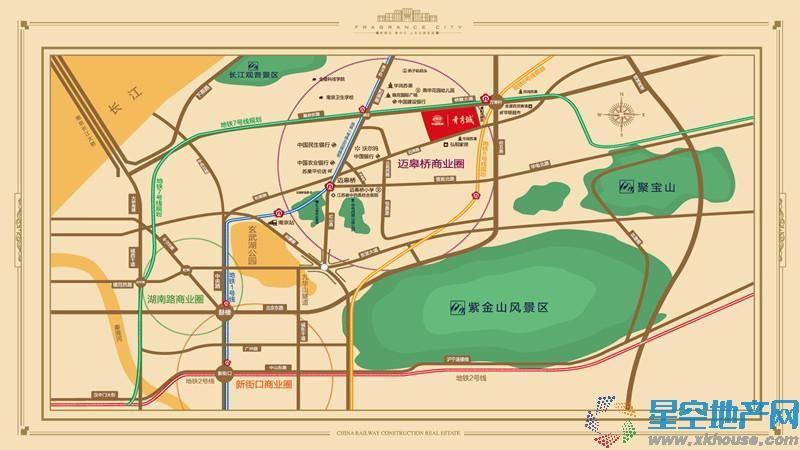 中国铁建青秀城效果图