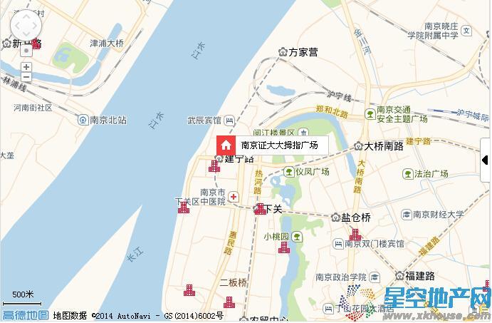 证大大拇指广场交通图