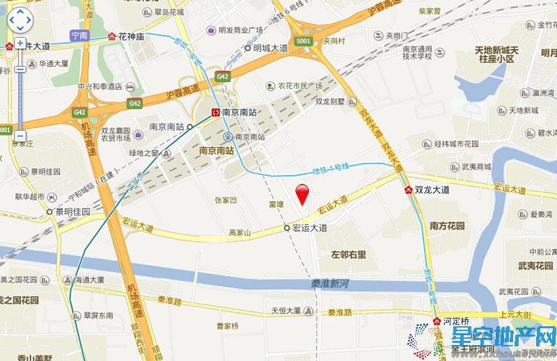 中交锦致交通图