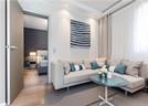 蓝白海军范儿现代简约风格小户型公寓案例