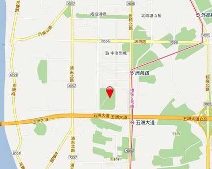 新城碧翠交通图