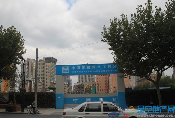 上海108广场效果图